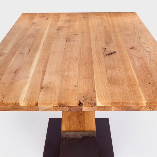 York Solid Wood Table
