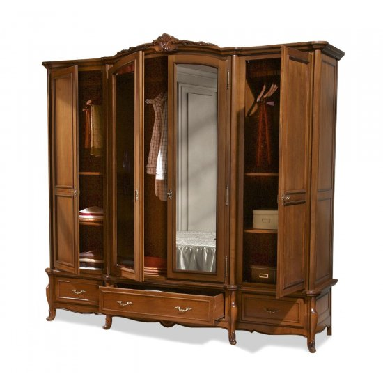 4-doors Wardrobe - Arcad