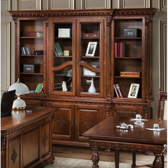 2 door Bookcase - Venice Lux