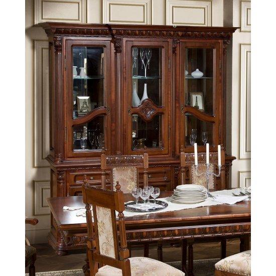 Buffet - 3-door display case - Venetia Lux