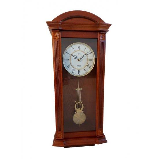 Solid wood pendulum clock Merion 6702/0