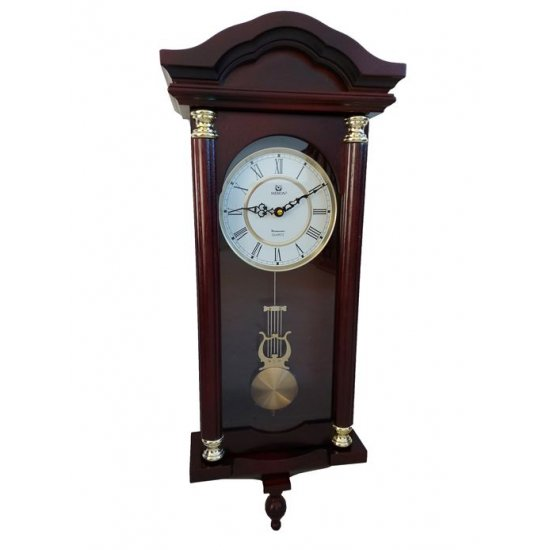 Merion pendulum clock with Westminster 6658/3 song