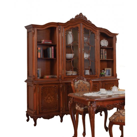 2 door Bookcase- Cleopatra
