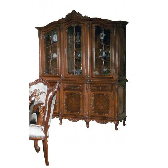 Buffet - 3-door Display case - Cleopatra