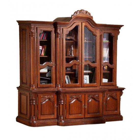 4-Door  Bookcase - Cristina
