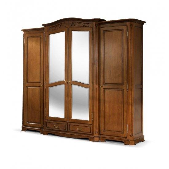 4-door  Wardrobe - Gino