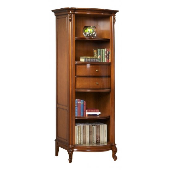 2 drawers Bookcase  - Firenze