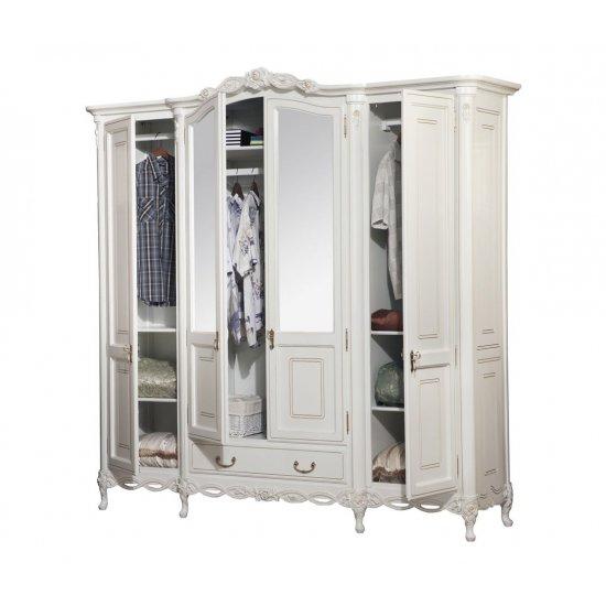 4-door Wardrobe - Flora