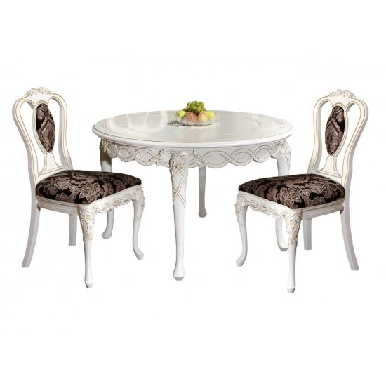Extendable round table - Flora