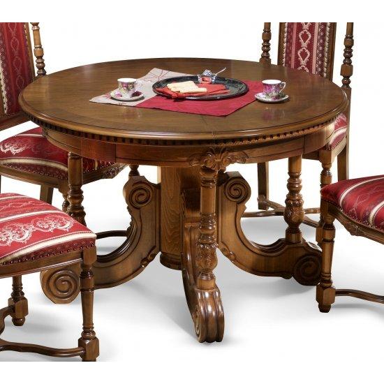 Roud Extandable table - Cristina