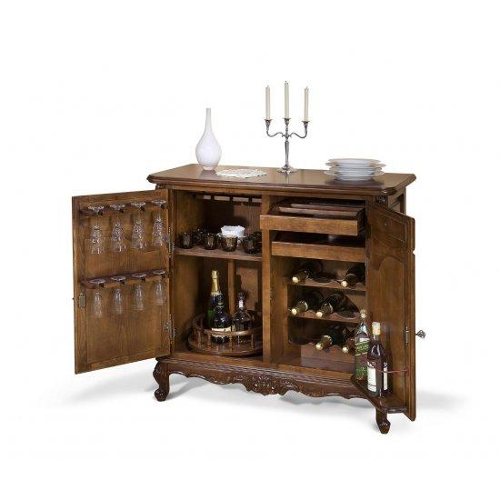 Wood bar Stand - Royal