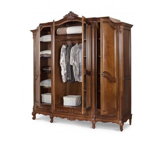 4-door Wardrobe - Royal