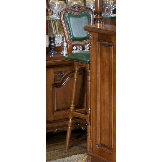 Bar stand stool with backrest - Royal
