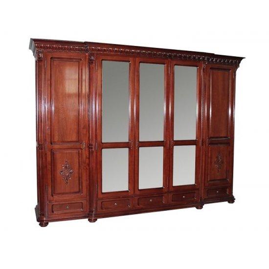 5-doors  Wardrobe - Venetia Lux