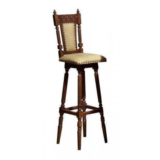 Bar stool with backrest - Venetia Lux
